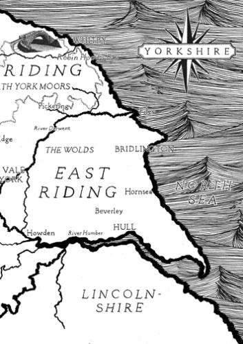 Tommy Davidson - YORKSHIRE MAP